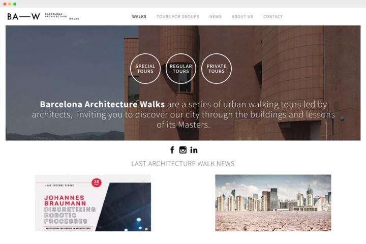 Barcelona Architecture Walks